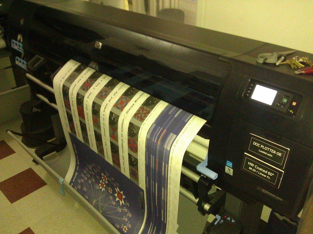 Pratt fabric printer